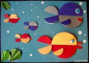 circle paper oceans