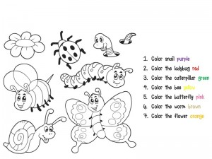 coloring pages for kıdbugs