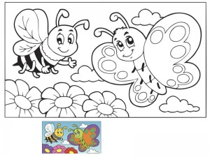 coloring pages matching