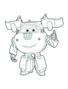 coloring pages super wings
