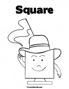 coloring square