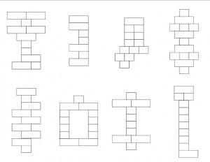 construction lego worksheets activities