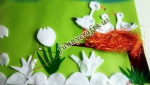 cotton rounds art