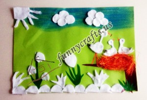 creative craft ideas with cotton pads