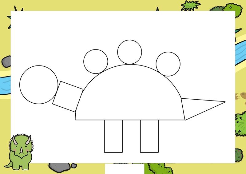 Dinosaur Preschool Craft Activities