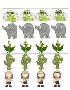 dinosaur differance