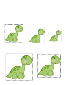 dinosaur size activity