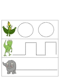 dinosaur writing activity