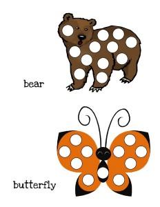 do a dot alphabet first grade