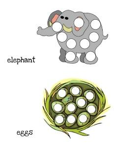 do a dot alphabet for preschoolers