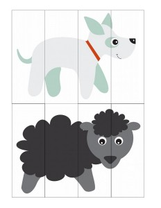 dog and sheep puzzle