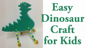 easy dinosour crafts