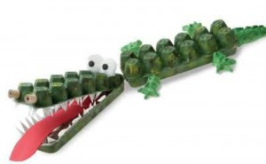 egg box crocodile
