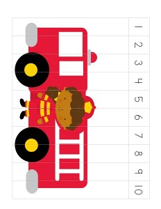 fire truck puzzles