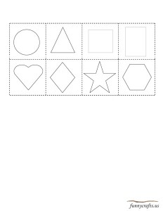 geometric shapes activities matching
