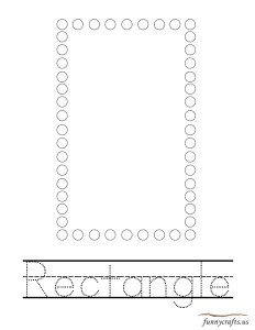 geometric shapes activities rectangle