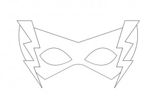 heros mask template for kıds