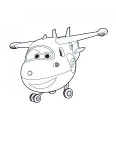jett coloring pages super wings