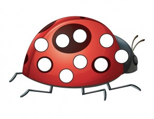 ladybugs do a dot