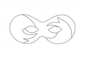 mask template coloring