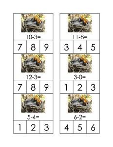 math activities for kıds