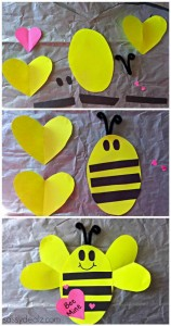 paper arts and crafts bee