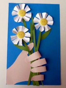 paper arts and crafts flowers