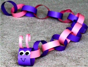 paper arts and crafts snake