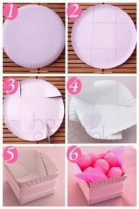 paper plate crafts ornamental