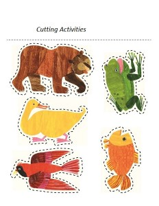 polar bear cutting pages