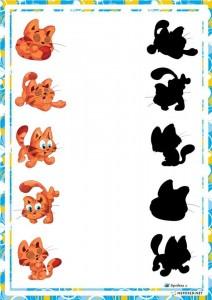 preschool activities shadow cat