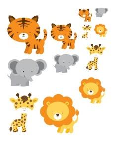 preschool animals sıze activities