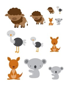 preschool animals sıze activity
