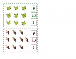 preschool counting pages