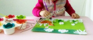 preschool eye make up remover pads crafts