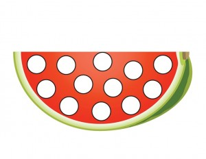 preschool watermelon
