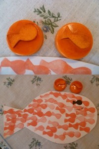 printing fısh crafts