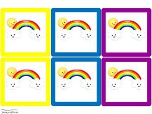 rainbow cards