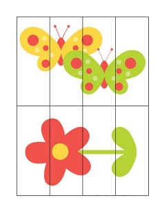 spring puzzle for kıds