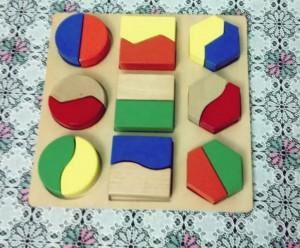 square materials preschool