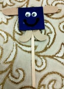 square puppet