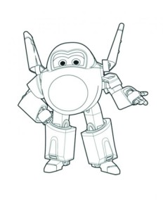 super wings coloring pages cool