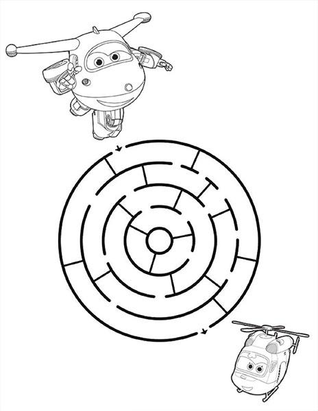 super wings maze u00ab Preschool and Homeschool