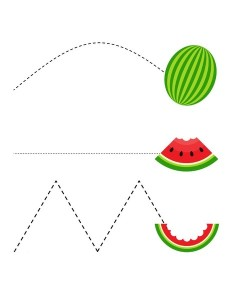 watermelon cutting