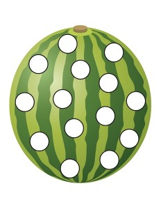 watermelon do a dots activities