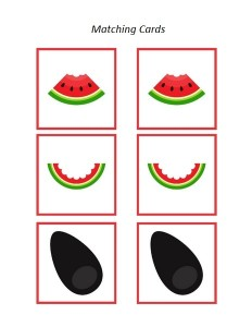 watermelon matching game