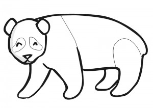 zoo coloring pages panda