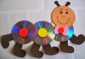 CD caerpillar craft