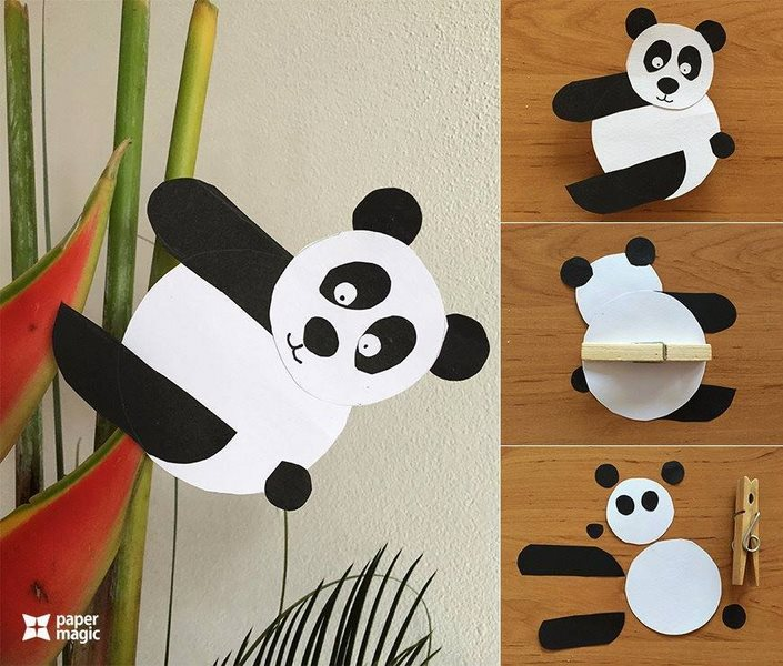 How to make paper animals craft 24 preschool and for Animals art and craft for preschoolers