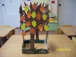 Make Four Season Trees (6)